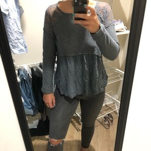 Altar'd State Ruffle Blouse